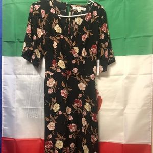 Roma Floral Dress NWT